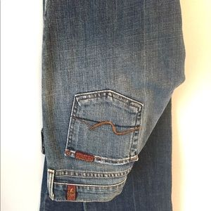 7 for all Mankind women's bootcut size 26 jean